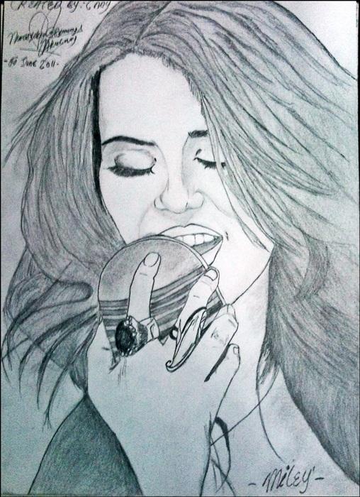 Miley Cyrus by asyikin